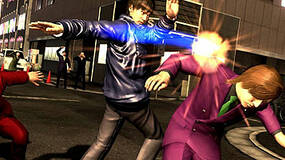Image for Yakuza 4 dated, screens show slapping, scowling