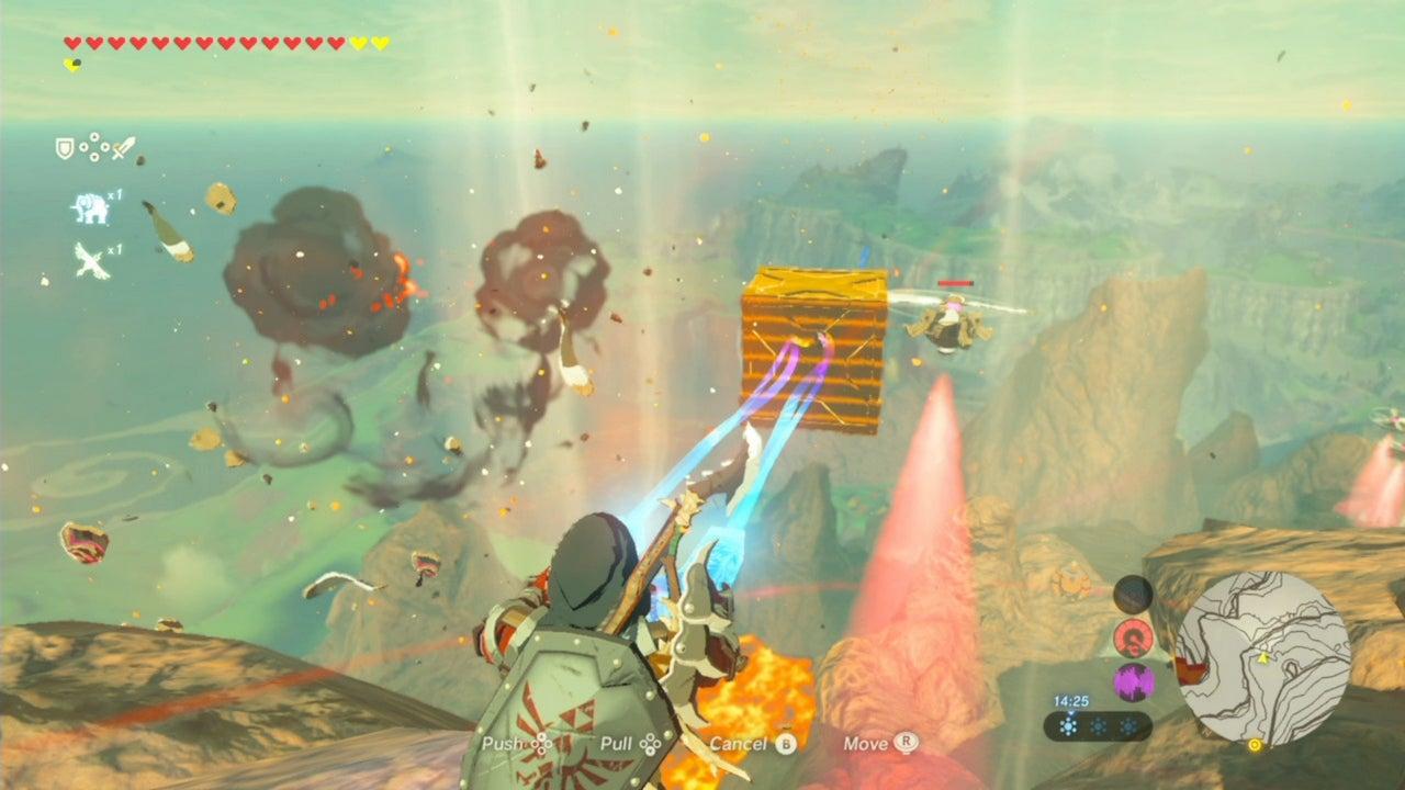 Image for Zelda: Breath of the Wild walkthrough - Boarding Vah Rudania