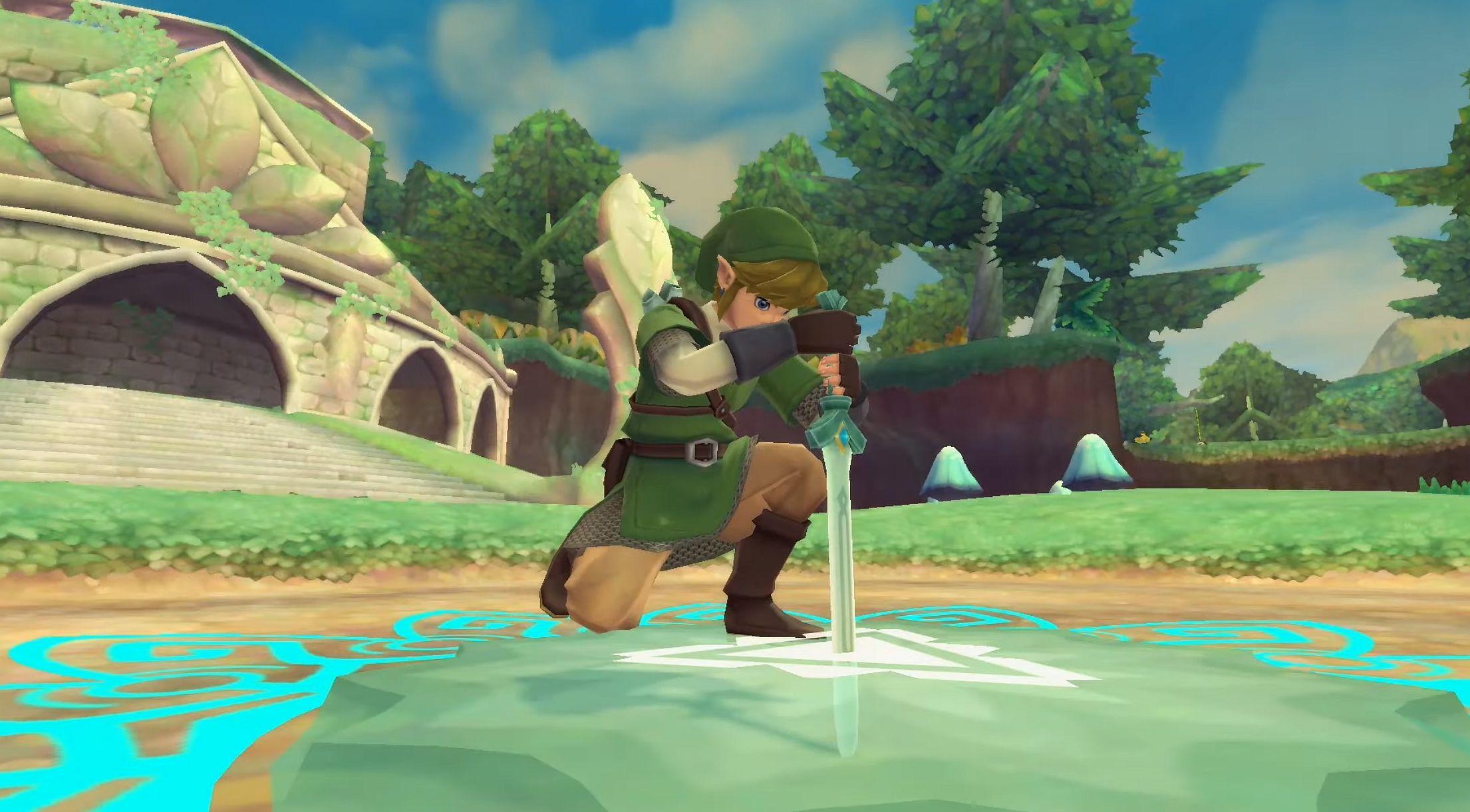 Image for Zelda: Skyward Sword HD video outlines quality of life improvements